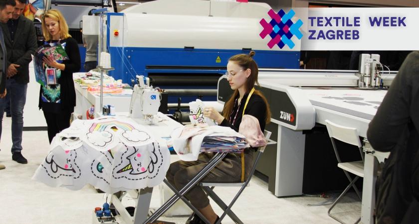 Textile week Zagreb - logo