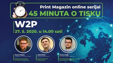 """""""45 minuta o tisku"""" – Kako pokrenuti Web-to-Print portal?"""