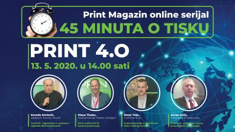 """45 minuta o tisku"" – Print 4.0"