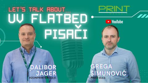 Let's talk about… UV flatbed pisači
