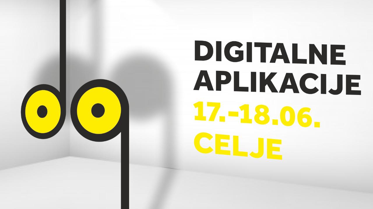 Treća sreća! Novi datum DA! Digitalnih aplikacija 17. i 18. 6. 2021.