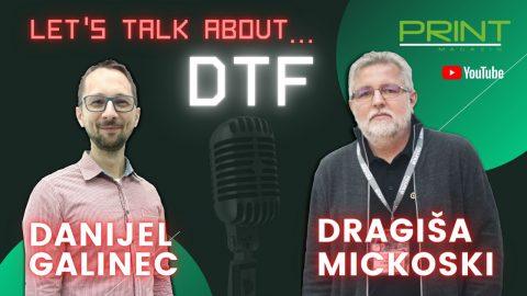 Upoznajte DTF tehnologiju