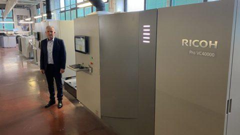 Eurocop u Pošti Slovenije u šest mjeseci instalirao dva Ricoh Pro ™ VC40000 pisača