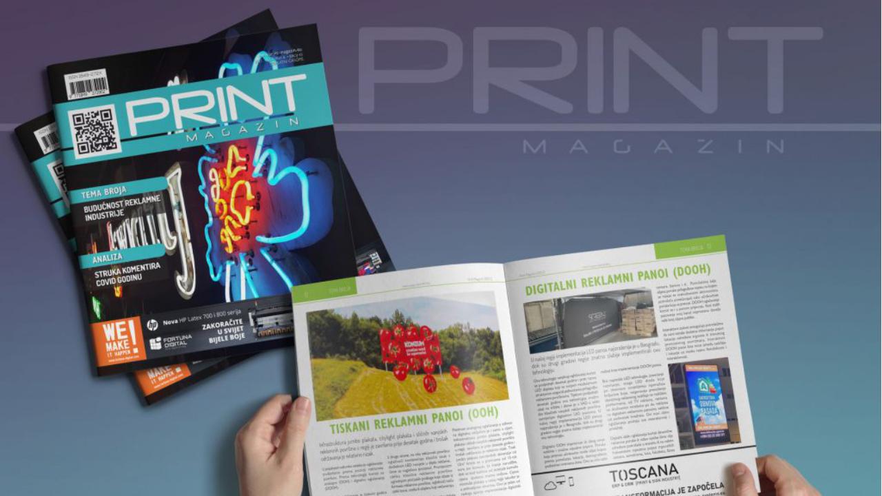Print Magazin u novom broju donosi…
