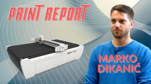 Print Report: iECHO rezači u DIT-u