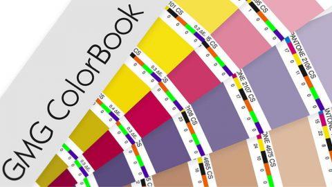 GMG Colorbook za lakše podudaranje s Pantone bojama