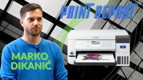 Print Report: SureColor SC-F100 mali sublimacijski pisač velikih mogućnosti