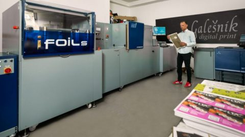 MGI JETvarnish 3DS & iFoil S installed in Croatian printing house Galesnik