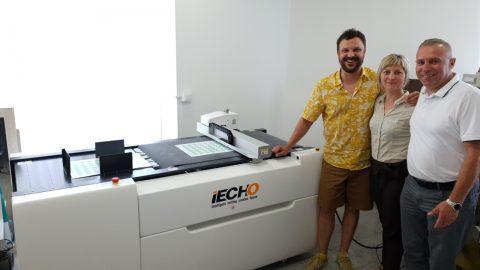 Trgo Fortuna installed digital cutter in Argenta printing house
